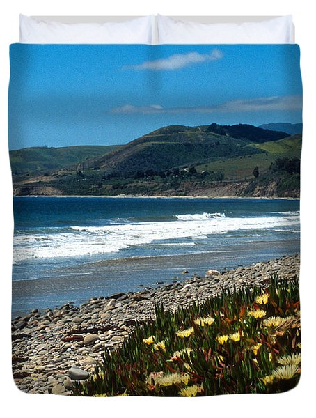 El Capitan Beach Duvet Cover by Kathy Yates