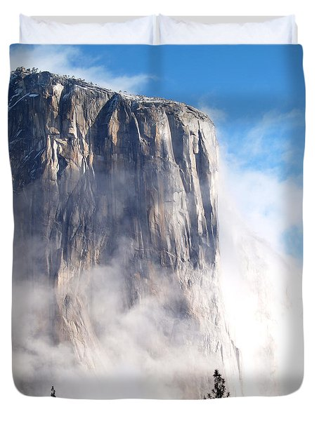 El Capitan Duvet Cover by Bill Gallagher