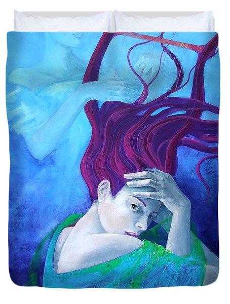 Elegy Duvet Cover by Dorina  Costras