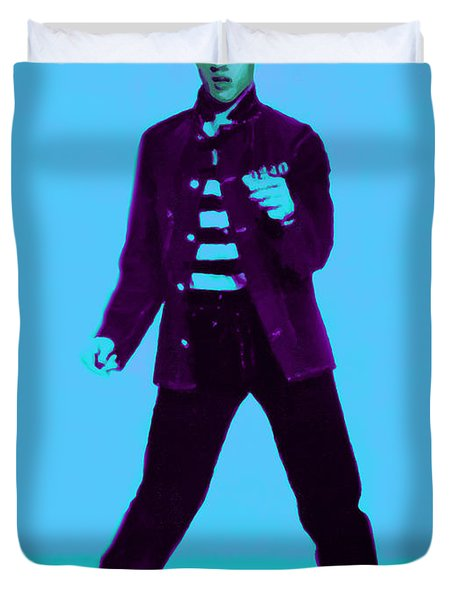 Elvis is In The House 20130215p148 Duvet Cover by Wingsdomain Art and Photography