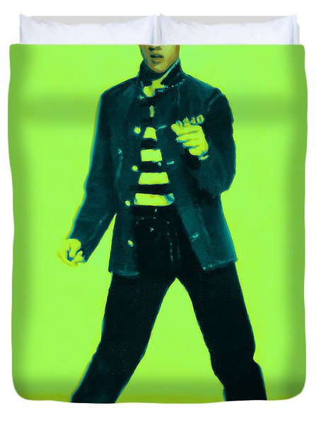Elvis is In The House 20130215p42 Duvet Cover by Wingsdomain Art and Photography