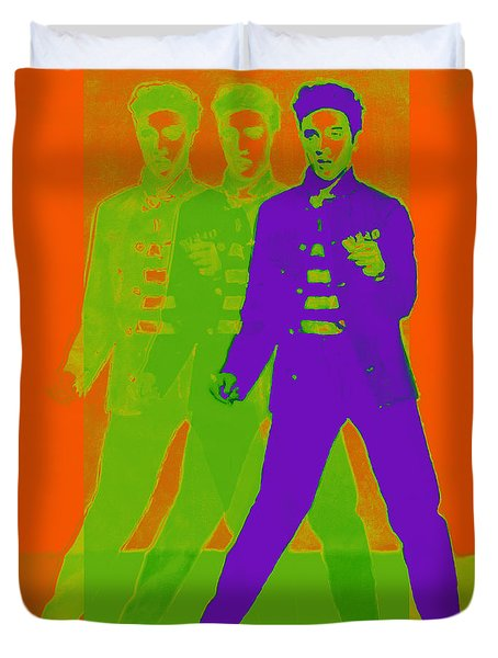 Elvis Jail House Rock 20130215m28 Duvet Cover by Wingsdomain Art and Photography