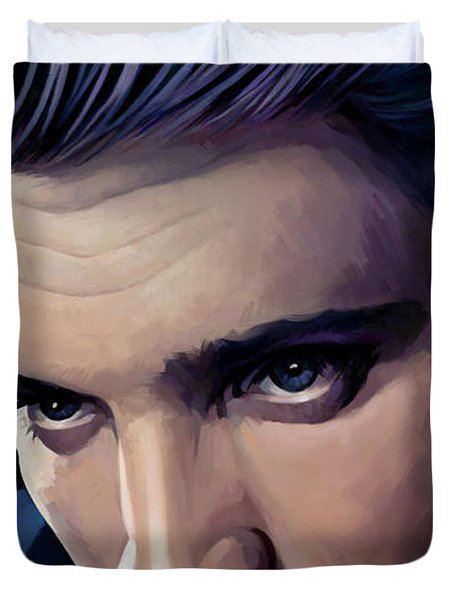 Elvis Presley Artwork 2 Duvet Cover by Sheraz A