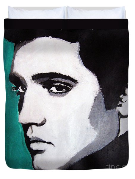 Elvis Duvet Cover by Venus