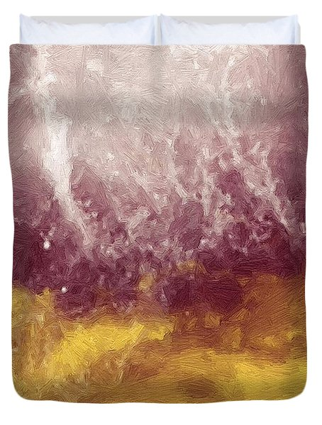 Emotional Firestorm Duvet Cover by RC DeWinter
