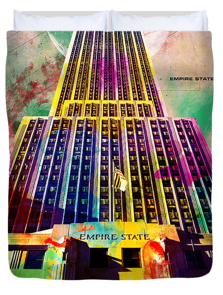 Empire State Duvet Cover by Gary Grayson