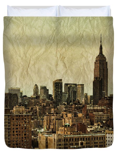 Empire Stories Duvet Cover by Andrew Paranavitana