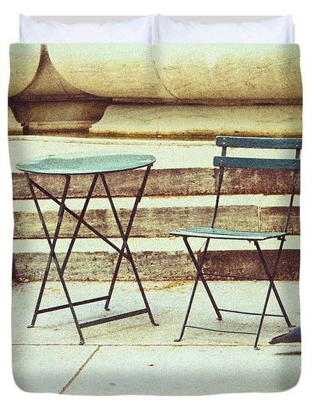 Empty Duvet Cover by Karol Livote