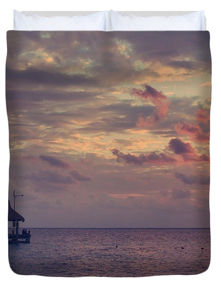 Enchanted Evening Duvet Cover by Laurie Search