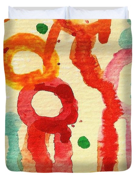 Encounters 3 Duvet Cover by Amy Vangsgard