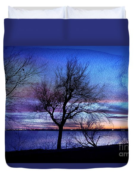 End Of Day Duvet Cover by Betty LaRue