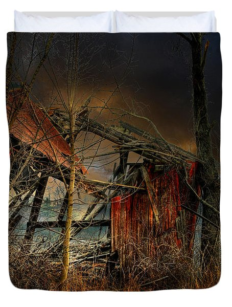 End Times Duvet Cover by Lois Bryan