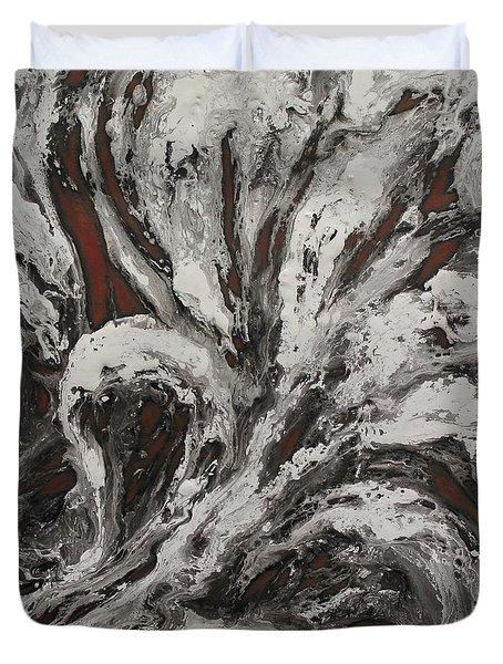 Energy II Duvet Cover by Karen Kliethermes