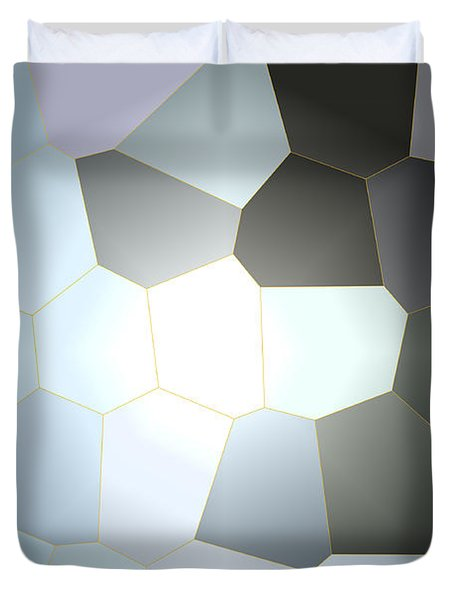 Energy Within - Abstract Art Duvet Cover by Carol Groenen