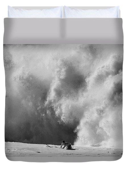 Engulfed Duvet Cover by Sean Davey