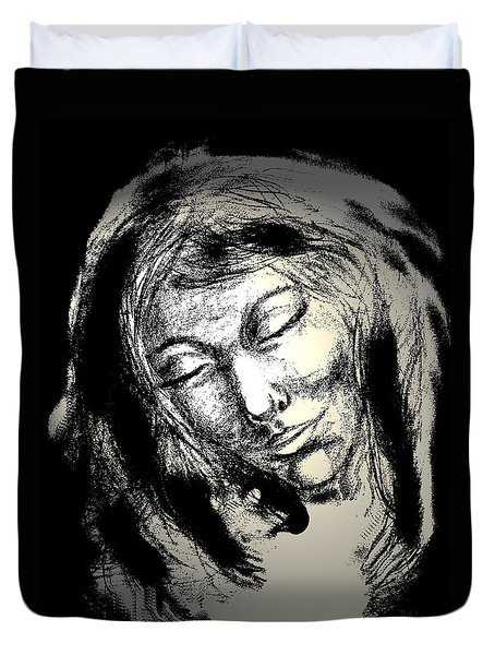 Enlightenment Duvet Cover by Natalie Holland