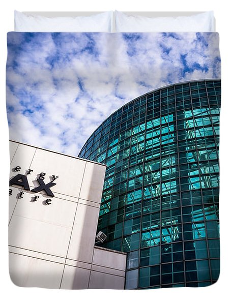 Entergy Imax Theatre In New Orleans Duvet Cover by Paul Velgos