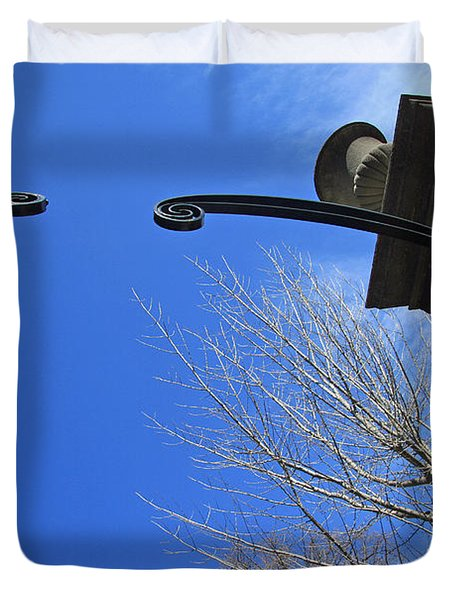 Going To Dumbarton House Duvet Cover by Cora Wandel