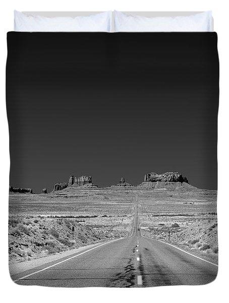 Epic Monument Valley Duvet Cover by Christine Till