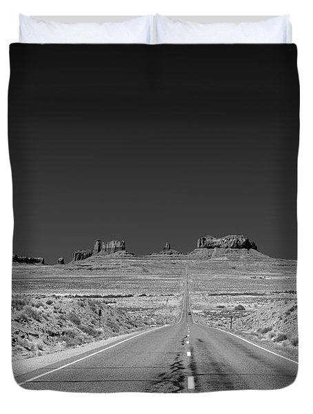 Epic Monument Valley Duvet Cover by Christine Till