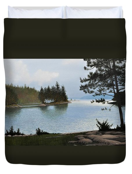 Equanimity Duvet Cover by Kenneth M  Kirsch