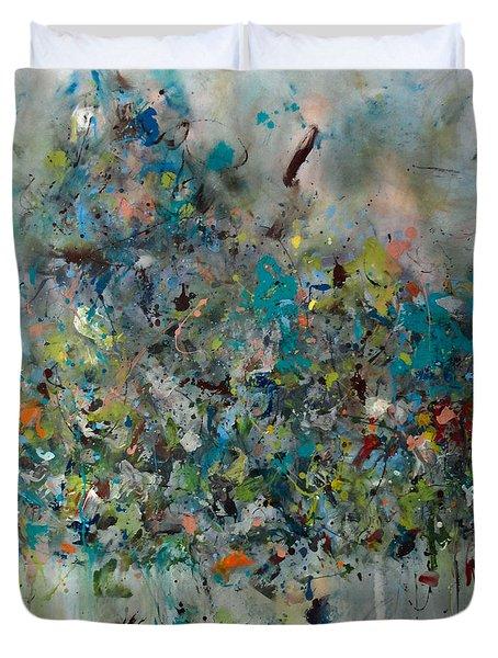 Equilibrium Duvet Cover by Katie Black