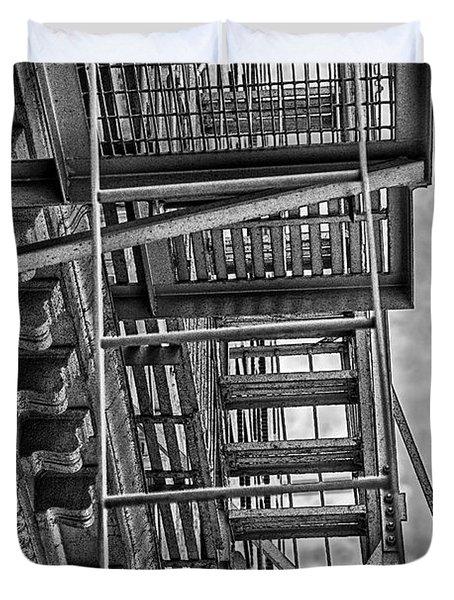 Escher Escape Duvet Cover by Madeline Ellis