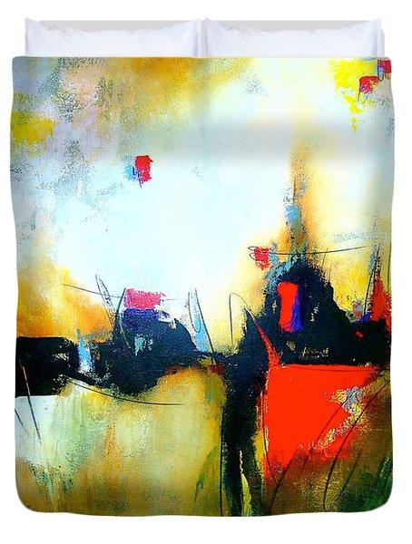 Espejismos Duvet Cover by Thelma Zambrano