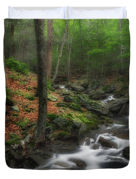 Ethereal Forest Duvet Cover by Bill Wakeley