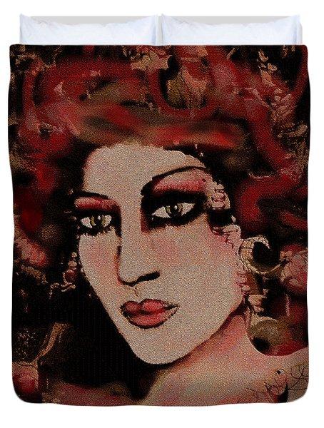 Eva Duvet Cover by Natalie Holland