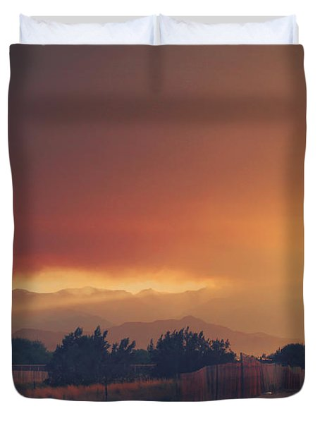 Even Now Duvet Cover by Laurie Search