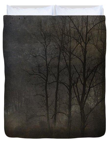 Evening Mist Duvet Cover by Ron Jones