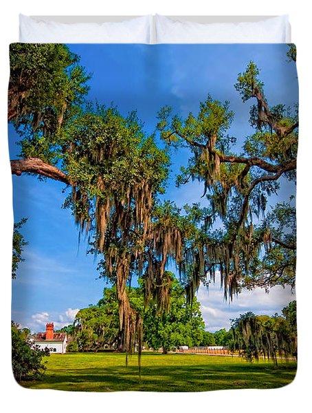 Evergreen Plantation Duvet Cover by Steve Harrington