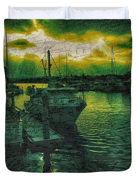 Every Port Duvet Cover by Cheryl Young