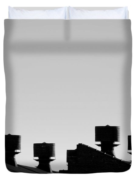 Exhausted Duvet Cover by James Aiken