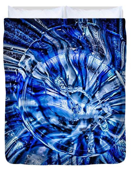 Eye Of The Storm Duvet Cover by Omaste Witkowski