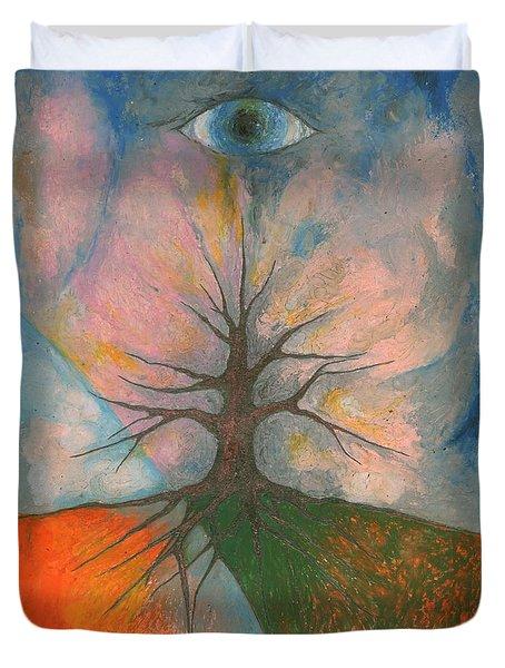 Eye Duvet Cover by Wojtek Kowalski