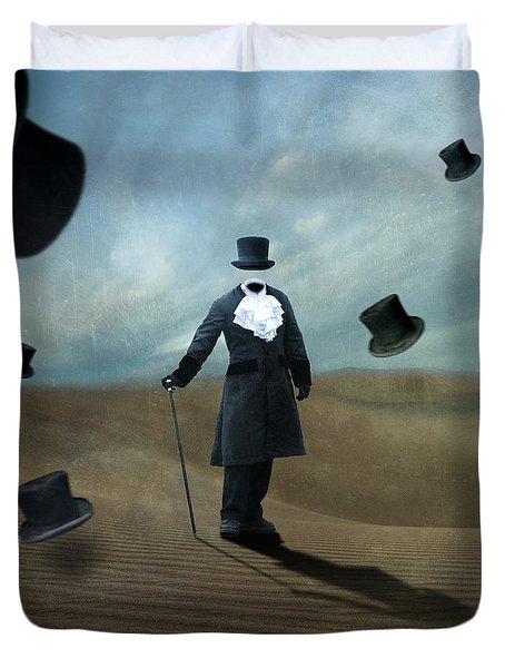 Faceless Duvet Cover by Juli Scalzi