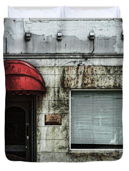 Fading Facade Duvet Cover by Andrew Paranavitana
