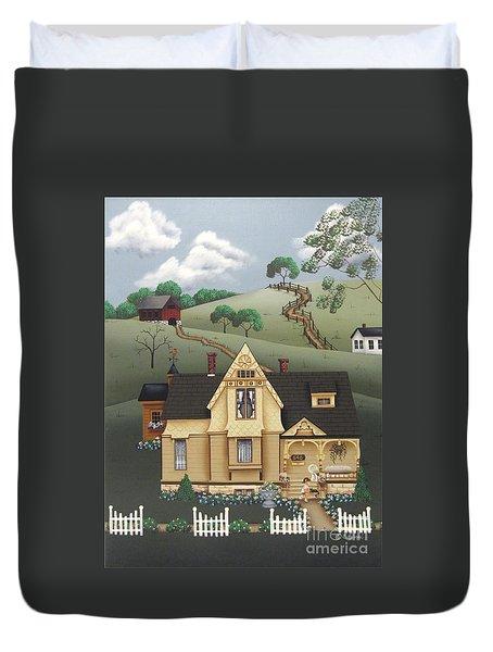 Fairhill Farm Duvet Cover by Catherine Holman