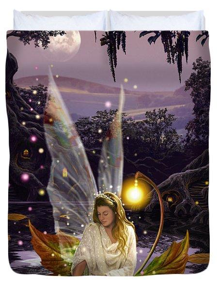 Fairy Princess Duvet Cover by Garry Walton