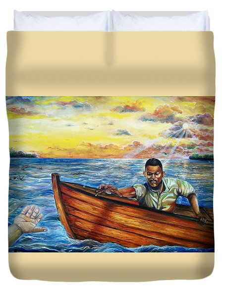Faith Duvet Cover by Emery Franklin