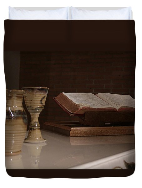 Faith Duvet Cover by Shoal Hollingsworth