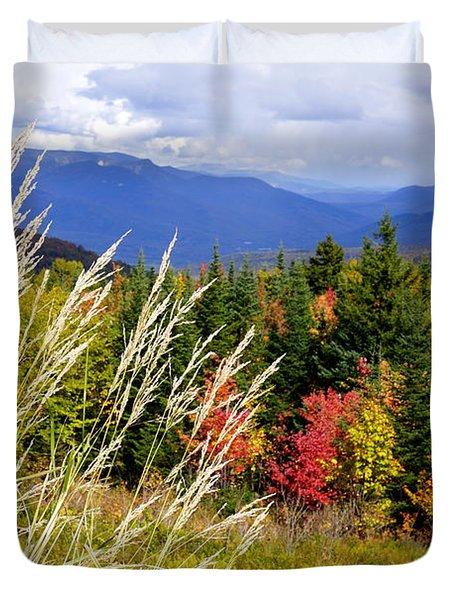 Fall Foliage 2 Duvet Cover by Kerri Mortenson