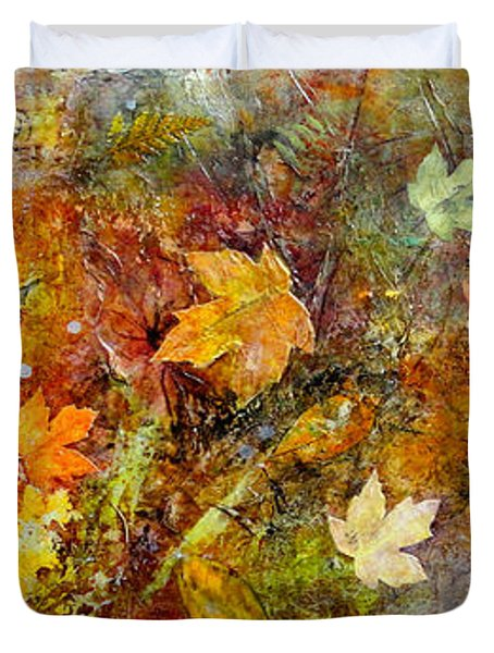 Fall Duvet Cover by Katie Black