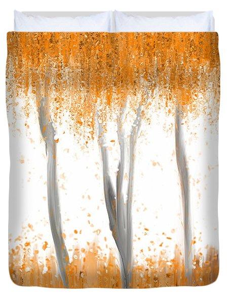 Fall Duvet Cover by Kume Bryant