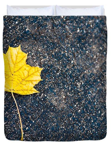 Fallen Duvet Cover by Sebastian Musial