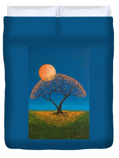 Falling For You Duvet Cover by Jerry McElroy