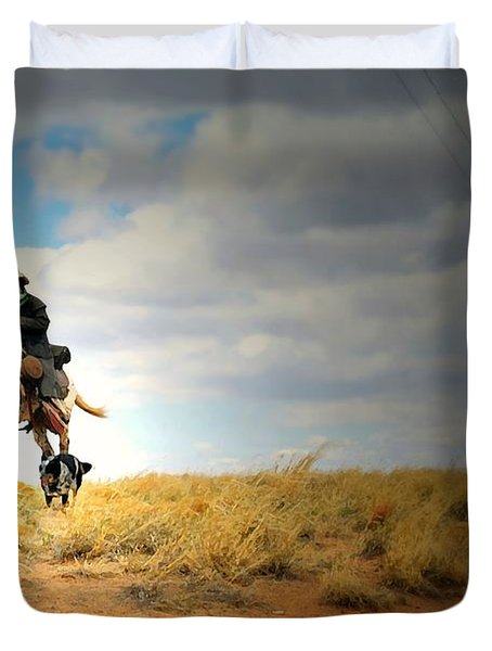 Family Day Duvet Cover by Diana Angstadt