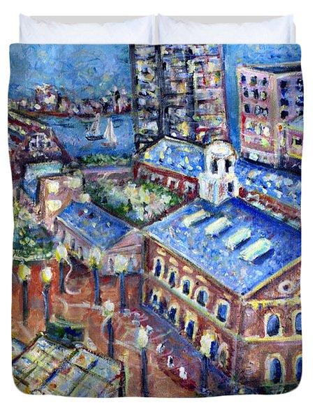 Faneuil Hall Duvet Cover by Jason Gluskin
